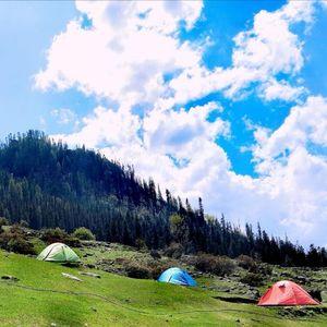 The Milky kheerganga camp