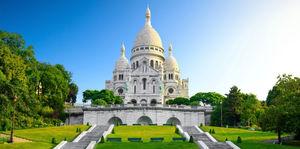 Visiting Sacre-Coeur in Paris