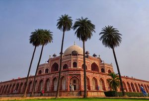 Tour of humayun's tomb