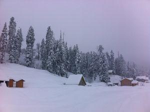 Srinagar in Snow - World's Most Beautiful City