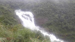 mansoon Beauty of mallalli falls