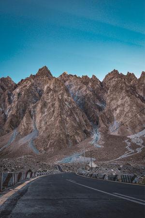 Passu Cones, Gojal. Upper Hunza Valley.