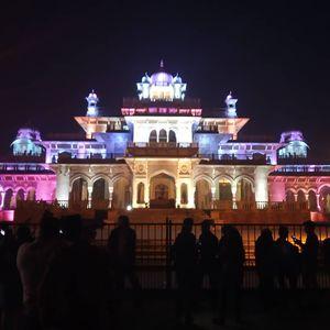 Beautiful Albert Hall at Jaipur Visit Night Time
