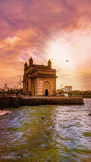 Gateway of india , where mumbai starts and end ....