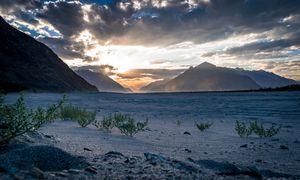 Hunder sand dunes , nubra valley, Ladakh