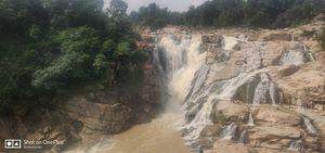 Falling from heaven- Dassam Falls
