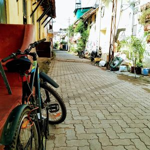 Bicycle ride to fort kochi