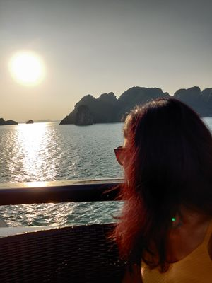 Morning in Halong Bay