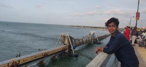 Pamban bridge, an amazing engineering work by E.Sreedharan