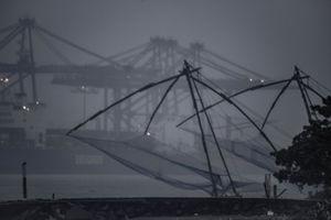 Chinese fishing nets at Fort Kochi