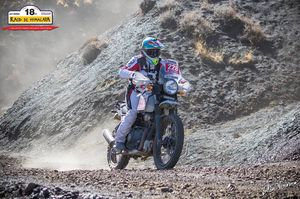This Woman Is The Only Female Rider To Finish The Toughest Himalayan Rally In The World!