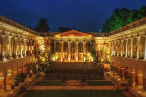 Heritage and Luxury at 250 year old Rajbari near Kolkata