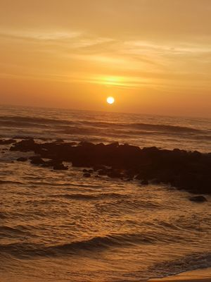 One of the most beautiful sunsets... Taneerbavi beach, Mangalore