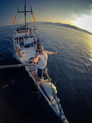 I would prefer Sinbad the Sailor than Pirates of Carrabian #SelfieWithAView #TripotoCommunity