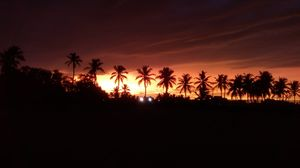 Evening scenes of ECR beach
