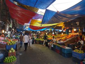 Crawford market is a must seen for Mumbai visitors who love street photography