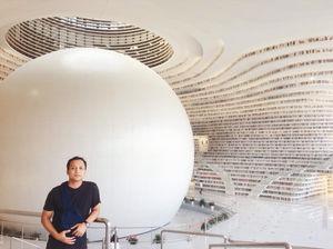 No Flip Flops , No Camera - No Books Tianjin Bin Hai Library