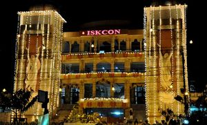 The spiritual destination - ISKCON Noida