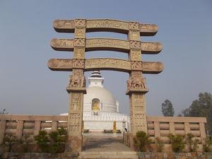 Delhi through my lenses - Vishwa Shanti Stupa