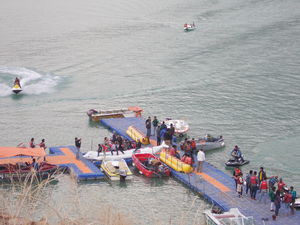 Water sports destination - Tehri Dam