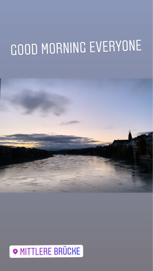 Basel early in the morning