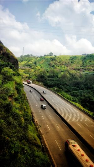 Beauty of Express-Highway of Lonavala