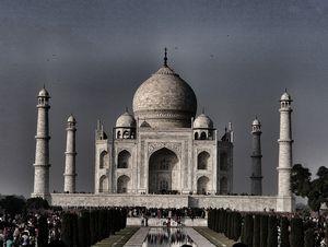 "Taj Mahal - ""The Crown Of Palaces'"