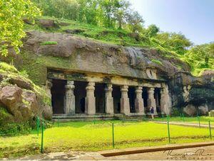 Magnificent Elephanta Caves!