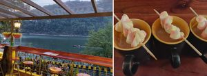 This Cosy Cafe at the Edge of a Lake, Surrounded by Mountains, Serves the World's Best Hot Chocolate