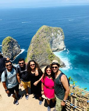 This was the much awaited day of the trip. Nusa Penida!