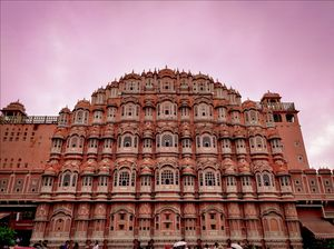 Pink Hues of the Pink City