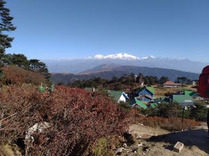 Mount Kangchenjunga.....a sight to be remembered through out life time.