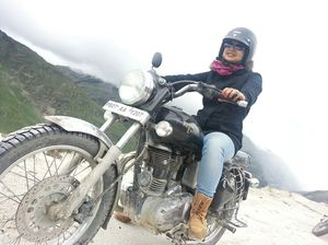 On two wheels till Keylong