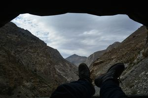 Hitchhiking on the back of a Jeep in Kinnaur, Himachal Pradesh!