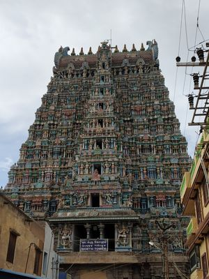 Madurai Meenaxi Temple
