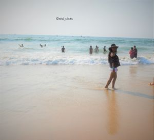 A beach which is lovable in all the seasons - Candolim beach