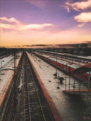 Dibrugarh railway station!