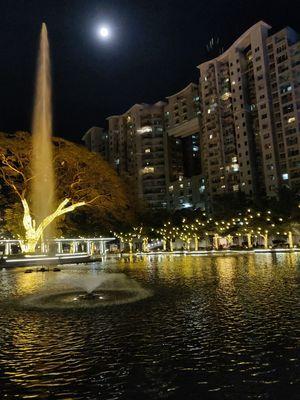 Orion mall night @bangalore