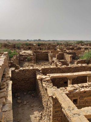 Mysterious abandoned Kuldhara#Jaiselmeer#Rajasthan, Incredible India