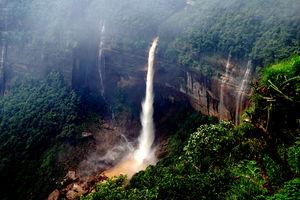 Nohkalikai Falls 1/undefined by Tripoto