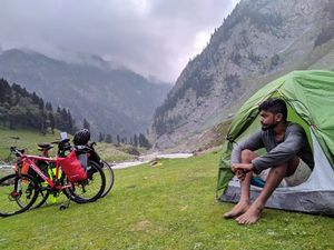 A cycle travel on the heart of Himalayas.