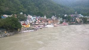 Few hours in Rishikesh, Thrilled