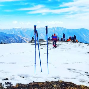 Himalayas: BrahmaTal Trek, in other words, full of fun, fight, fall, rise, fear, and accomplished.