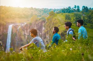 Gidiya Khoh waterfall - Hidden beauty of Indore