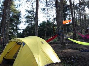 Hammock in Woods- A Campfire in Bantir Hills