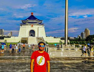 Traveling to Taipei Taiwan and visiting Taipei 101 and Chiang Kai Shek Memorial Hall are MUST.