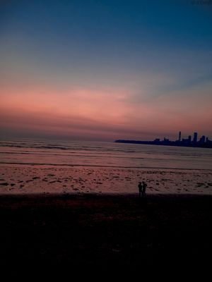 Evening at marine drive