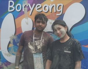 Get Dirty In Boryeong Mud Festival + Seoul, South Korea..