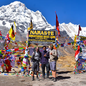 Trekking in Nepal - Annapurna Base camp trek (Day 02)
