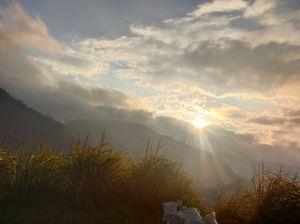 Sun water and trek